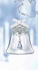 SWAROVSKI 2017 Christmas Bell Ornamento Grande 5241593 Nuovo di zecca Boxed RITIRATO RARO