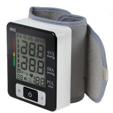 Digital Wrist Blood Pressure BP Monitor Gauge Automatic Sphygmomanometer Meter