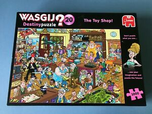Wasgij Destiny Puzzle 20 - The Toy Shop - Jigsaw - Unchecked