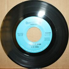 B.B. KING **Think It Over** DON'T WANT YOU CUTTIN Blues Dancer 45 BLUESWAY 61004