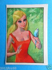 figurines vignettes cromos stickers picture cards figurine barbie 81 panini 1976