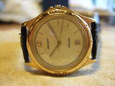 Orient Gold Plated Case Men's Wristwatches