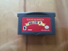 Game & Watch Gallery 4 Game Boy Advance cartridge only tested working