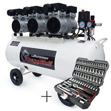 KnappWulf Flüster Kompressor Luftkompressor KW2100 Silent 100L Airbrush 69dB