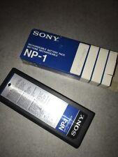 (3) Sony NP-1  Akku Beta-Cam  Videocamera