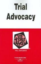 Bergman's Trial Advocacy in a Nutshell, 4th (Nutshell Series) (In a Nutshell (W
