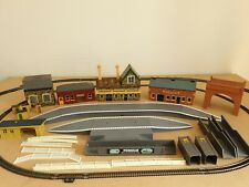 JOB LOT Triang/  Hornby OO Gauge Station/ Water Tank /Platforms /School / Bridge