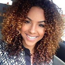 """Pelo rizado pelucas para De mujer negras, pelo natural mide pelucas para De mujer Negras, Peluca rizados, 14"""""""