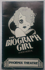 THE BIOGRAPH GIRL.WARNER BROWN.PHOENIX PROGRAMME 80.BRUCE BARRY.SALLY BRELSFORD
