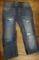 American Rag Mens Jeans Size 30X32 Slim Fit Skinny Stretch Blue Wash NEW