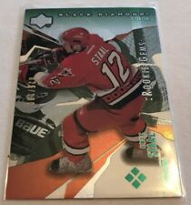 03/04 Black Diamond Quad Rookie Gems Green Eric Staal 26/100