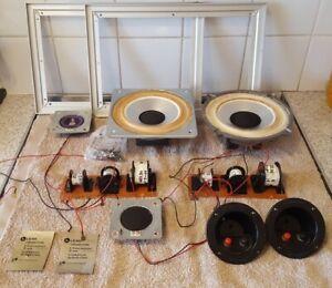 Leak Speaker 2020 Parts crossovers aluminium surround speaker terminals