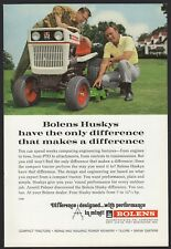 1968 BOLENS Husky Lawn and Garden Tractor Riding Mower AD Advertising