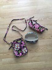Vera Bradley Lot Small Crossbody, Make Up Bag & Glasses Case