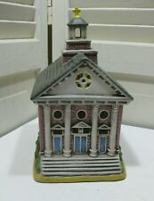 Vintage Geo Z Lefton Colonial Maple Street Church #06748 -1986 With Cord No Box