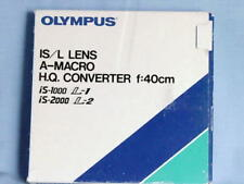 OLYMPUS IS/L LENS A-MACRO HQ CONVERTER F=40CM IS-1000 L-1 IS-2000 L-2 NEW IN BOX