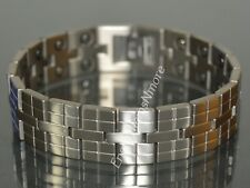 ENERGY POWER SCALAR TITANIUM QUANTUM BRACELET ANTI EMF WITH 36 STRONG MAGNETS