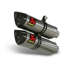 S-D10SO6C-HZT KIT SCARICHI AKRAPOVIC DUCATI STREETFIGHTER 848 2015 TITANIO