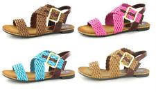 Sandali e scarpe casual Spot On marrone per il mare da donna