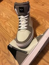 Creative Recreation Men's High Top Gray Black Adonis Leather Fashion Sneakers 12