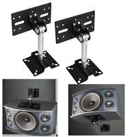 Universal Speaker Mounts Metal Bracket Wall Ceiling Mount Load 15kg Adjustable