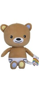 The Baby Club Official Baby Bear 3481ST 25cm Soft Plush Toy CBeebies Baby Club