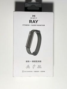 Misfit Ray Fitness + Sleep Tracker with Sport Band Carbon Black 2016