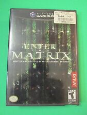 Nintendo Gamecube Video Game Enter The Matrix