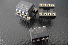 2x  TL072CP Texas Instruments DIP-8 Pin for Overdrive Pedal Effects Klon Centaur
