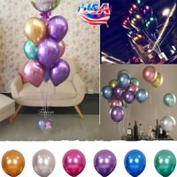 "10x (10"") Balloons Bouquet Pearl Ballon Wedding Birthday Party Supplies"