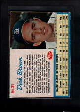 1962 POST CEREAL #21 DICK BROWN VG-EX F1898