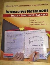 Interactive Notebooks and English Language Learners teacher book Heinemann