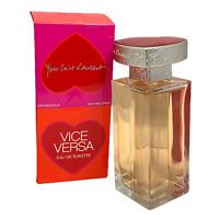 Yves Saint Laurent Vice Versa Eau De Toilette For Women 3.3oz./100ml New In Box