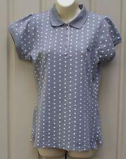 BHS grey polka dot top size M