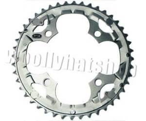 CHAINRING 44T Shimano DEORE FCM590 Outer GREY Y1LD98100