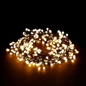 100/384/720 LED WARM WHITE BERRY CLUSTER LIGHTS XMAS CHRISTMAS WEDDING + TIMER