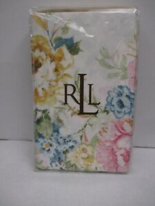 New Ralph Lauren Home Lake Pastel Floral Floral 2 King Pillowcases