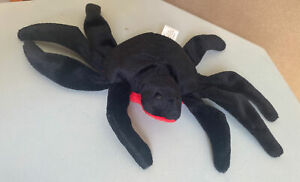 TY Beanie Baby Web the Spider 1995 - 1st Gen Tush Tag, No Hang Tag, PVC Pellets