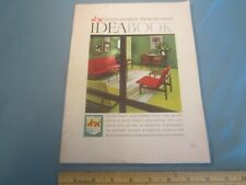 S & H GREEN STAMPS Merchandise Catalog IDEABOOK 1960 [Z103e]