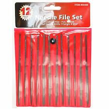 CENTRAL FORGE 00468 - Needle File Set 12 Pc Multiple Type