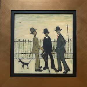 L.S. Lowry - Original Oil on Board, Hand Signed 1923