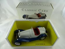 1:18 Classic Cars 1932 Alfa Romeo 2300 Spider weiß/blau