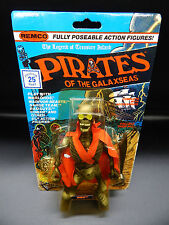 MOC vintage RIBS Pirates of the Galaxseas Remco action figure 1983 motu skeleton
