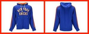 Adidas ~ NY Knicks Springfield Full Zip Hooded Sweatshirt Men's Small $80 NWT