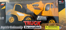 Friction Powered Toy Construction Truck