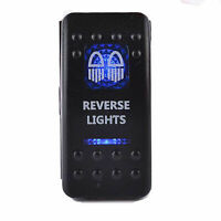 Reverse Blue LED Light Rocker Switch 12V 20A ARB Carling Push Toggle Car Boat FF