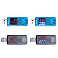 USB LED Charger Detector DC 3.2-10V 0-3A Current Voltage Meter Voltmeter Ammeter