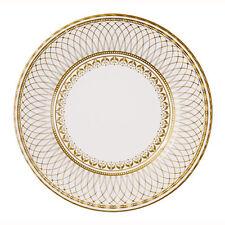 8 x Oro Carta di grandi dimensioni PIASTRE-NOZZE D'ORO 50ESIMO ANNIVERSARIO partito o matrimonio