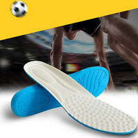High elastic shock absorption Memory Foam Orthotic Arch Insert Insoles Shoe P Hu