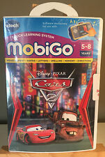 "Vtech MobiGo Touch Learning System Game - Disney/Pixar ""Cars 2"" - NEW & SEALED"